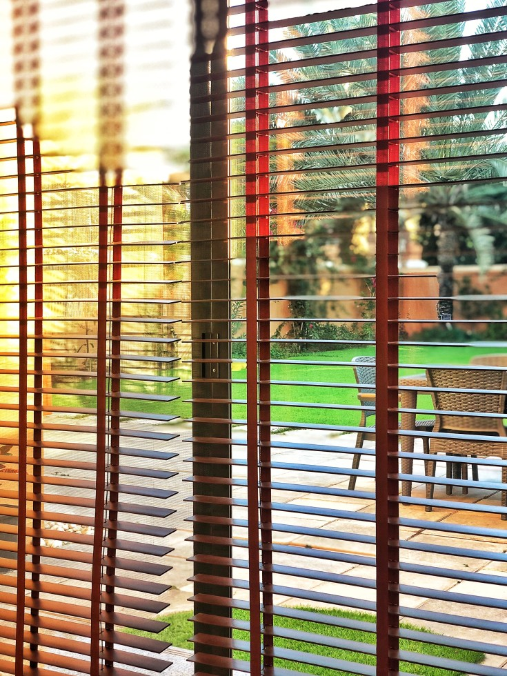 Blinds And Curtains Are Both Used For Window Treatments